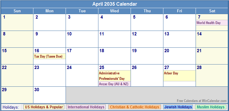 "Results Calendar April : Search results for ""calendar with holidays calendar"