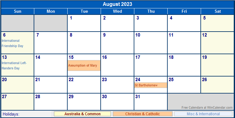Pin 2016 Calendar Australia Free Printable Calendars And Planners 2016 ...