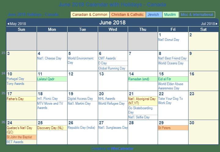 Calendar 2018 April Download
