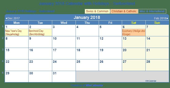 Calendar 2018 Nz Holidays