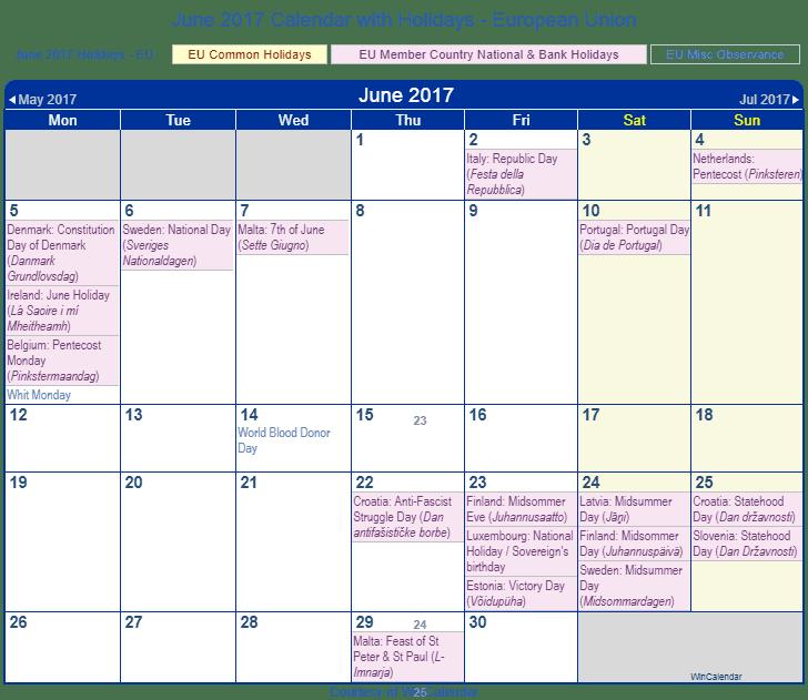 June Wincalendar : Calendar with holidays foto bugil bokep