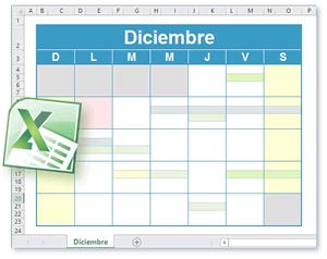 Plantilla Calendario Excel Calendario Para Imprimir