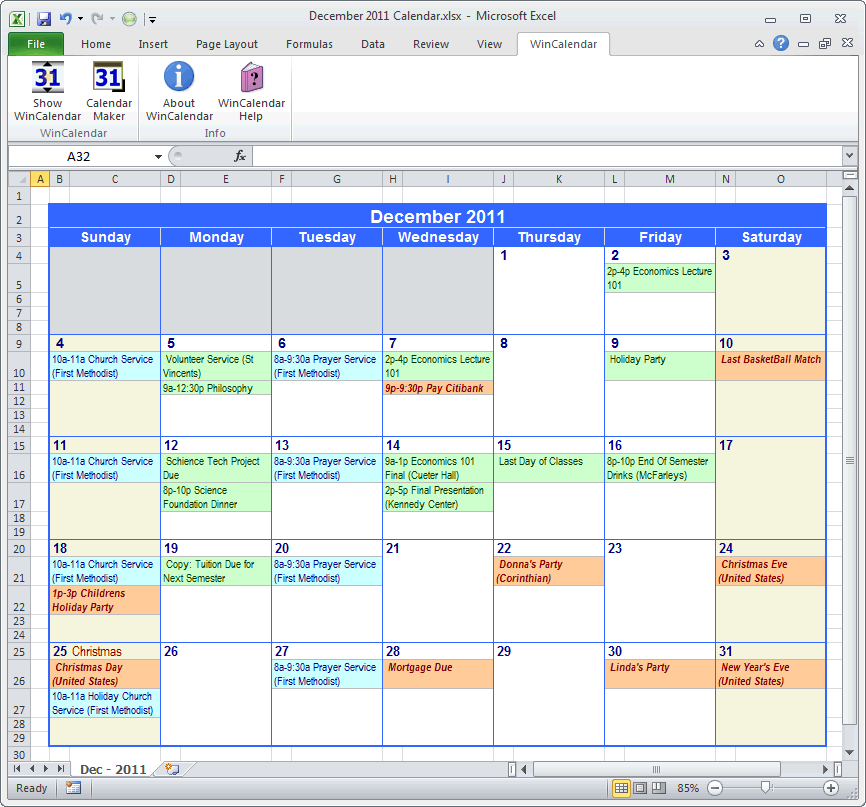 Microsoft outlook calendar new calendar template site for Outlook calendar printing assistant templates