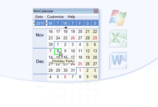 Wincalendar Kalender Ersteller Word Excel Pdf Kalenders