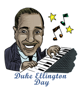 a biography of duke ellington a jazz icon Benny's success as an icon of the swing era prompted time magazine in 1937 to call him the king of swing the next year, at the pinnacle of the swing era, the benny goodman band, along with musicians from the count basie and duke ellington bands, made history as the first jazz band ever to play in new york's prestigious carnegie hall.