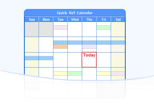 Holiday Calendar, Free Calendar Templates & Calendar Maker Software