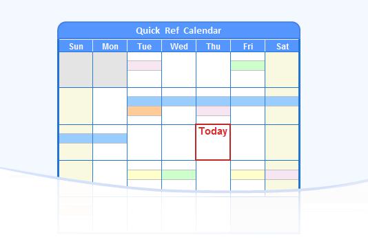 Excel Quarterly Calendar Template